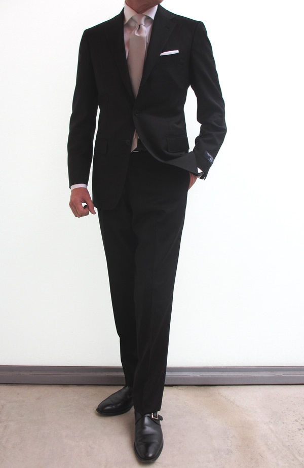 gloryguy cachette いざという時のattire アタイア のブラックスーツ