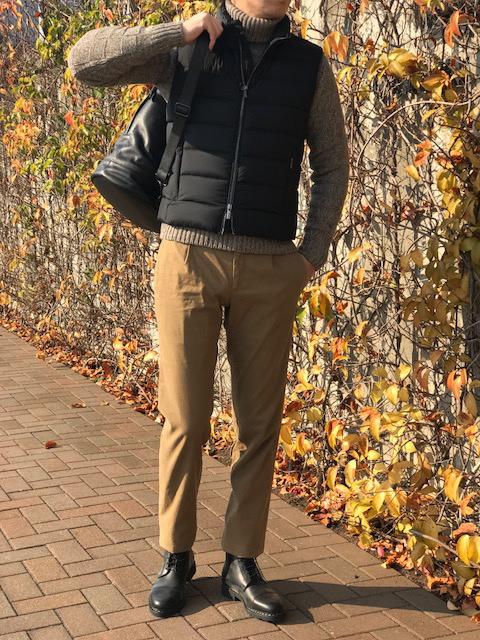 冬のトリップスタイル③! 【MooRER】「OLIVER-OP」ナイロンダウンベスト!!
