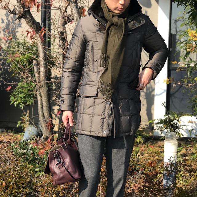 冬のトリップスタイル④! 【MooRER】「CARACCIO-KMP」取り外しファー&フード付きダッフルダウンコート!!
