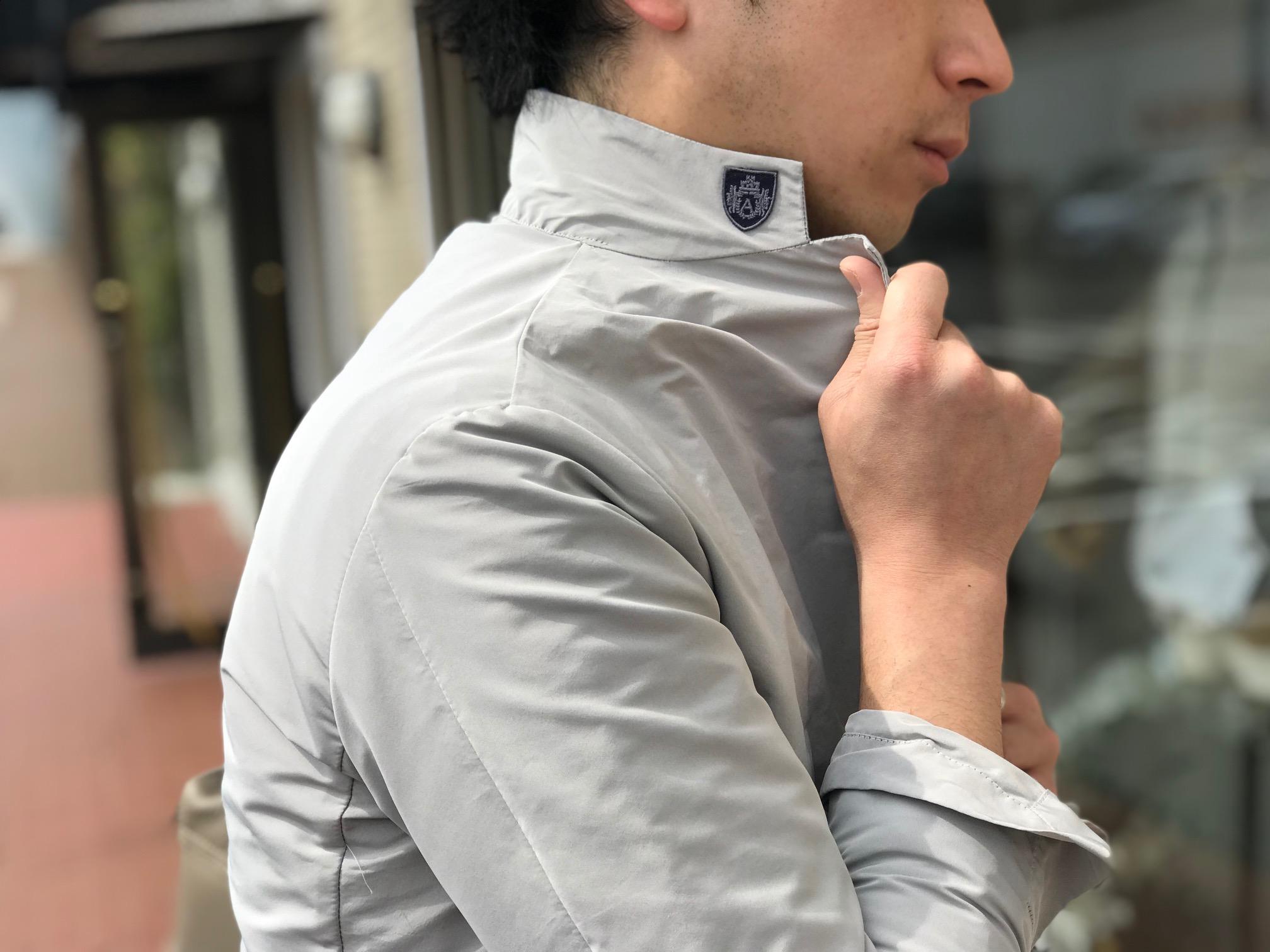 春の羽織りは軽めのナイロンブルゾン④! 【AQUARAMA】「82917」ナイロンジャケット型ブルゾン!!