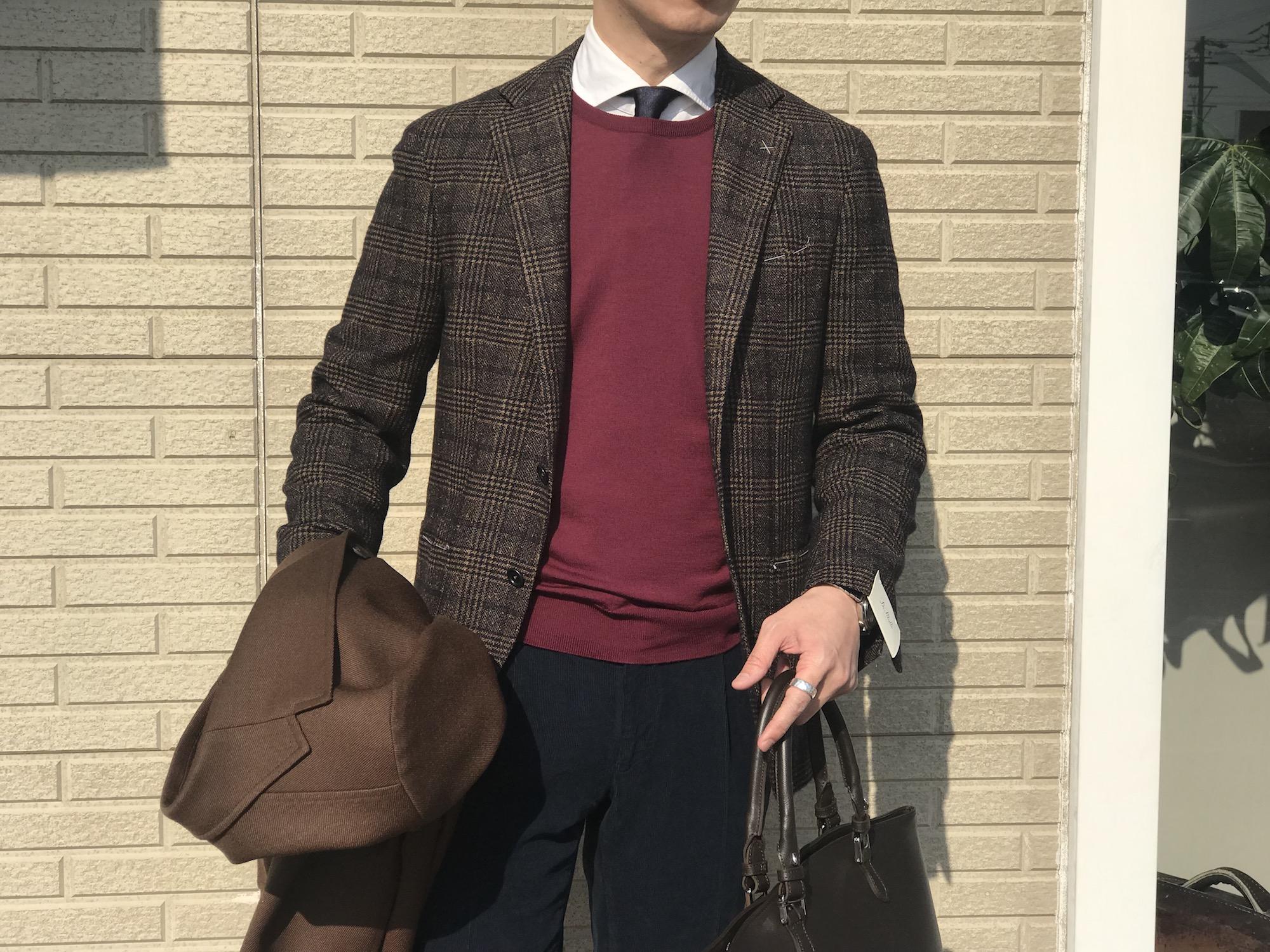 プラスワンカラーで気分を変える! 【JOHN SMEDLEY】「SICILY」ITALIAN FIT 30Gクルーネックセーター!!