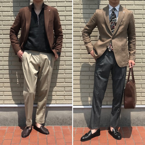 ブラウン×ブラック! TAGLIATORE/タリアトーレの「MONTECARLO」 渋茶ジャケット&金茶ジャケット!!