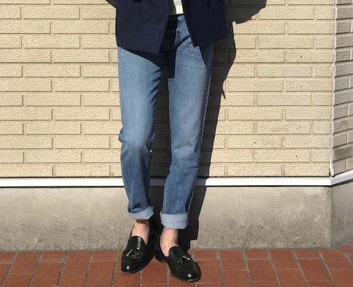 様々な顔を持つのがデニム! 【PT05】「SWING」ウォッシュドブルーデニム5Pパンツ!!